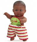 poupee-corolle Mini Olmo africain message
