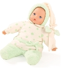 poupee-corolle Baby pure 33cm pois verts