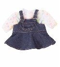 poupee-corolle Ensemble robe denim bébé 42-46cm