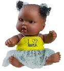 poupee-corolle Hebe mini africaine message Ibiza