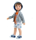 poupee-corolle Vicent sweat capuche 32cm